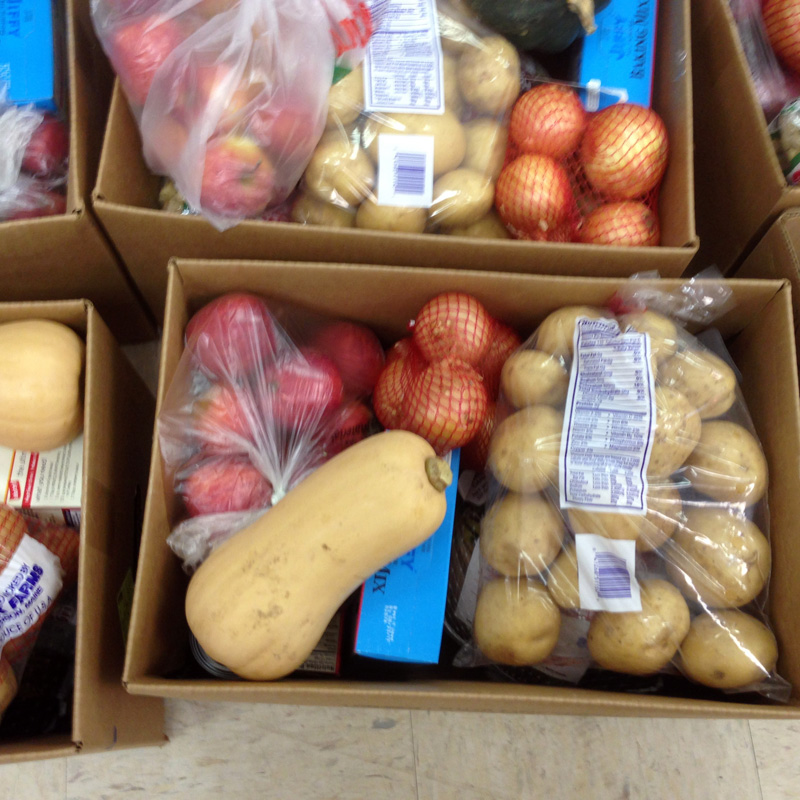 The Ecumenical Food Pantry in Newcastle will once again be packing and distributing Thanksgiving food baskets to families in 10 surrounding towns.