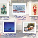 Local Artists Featured on Miles Memorial Hospital League Holiday Cards