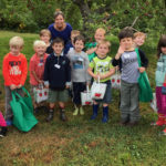 Kindergarten Students Visit Apple Orchard