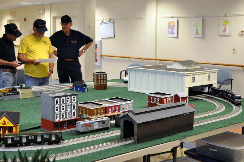 All ages are invited to stop by The Lincoln Home on Wednesday, Oct. 23 from 10 a.m. to noon and 1-2 p.m., to see a working model railroad display.