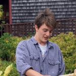 Youngest Boat Shop Apprentice is Nolen Michael