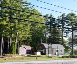 The Abenaki Trading Co. property at 48 Route 1 in Edgecomb remains on the market after a prospective buyer's plan to build a restaurant at the site did not come to fruition. (Jessica Clifford photo, LCN file)