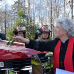 Edgecomb's New Fire Truck Receives a Blessing