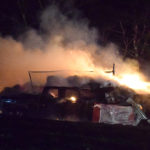 Newcastle Farmers Lose Animals, Truck in Barn Fire
