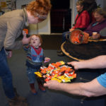 Halloween Night in Somerville Draws a Crowd to the Town Office