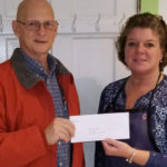 Bristol Area Lions Donate $500 to Caring for Kids
