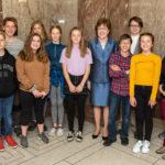 Collins Welcomes Damariscotta Montessori Students to Washington, D.C.