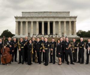 The U.S. Navy's premier jazz band, The Commodores. (Photo courtesy Opera Hoiuse at Boothbay Harbor)