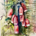 Pemaquid-Themed Watercolors by Peggy Farrell at Miles