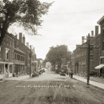 Photo Archivist at Historical Society Meeting