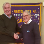Bristol Area Lions Hear From Town Administrator