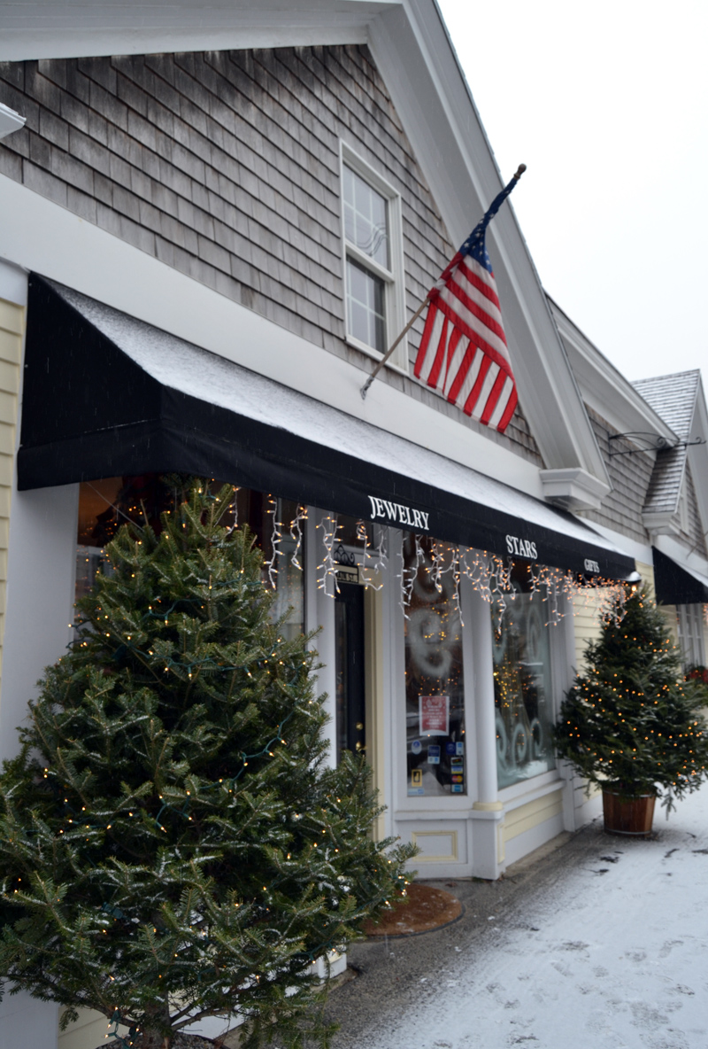 The entrance to Stars Fine Jewelry, at 65 Main St. in Damariscotta. (Maia Zewert photo)