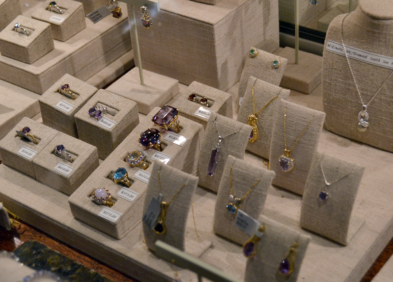 Stars Fine Jewelry carries a large selection of estate jewelry. (Maia Zewert photo)