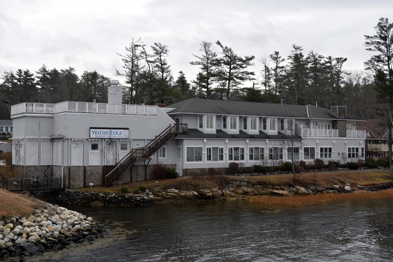 A Portland chef and restaurateur plans to close on the Water's Edge Banquet & Function Facility, on Davis Island in Edgecomb, by the end of the year. He hopes to open a restaurant there in mid-April. (Jessica Clifford photo)
