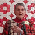 Elwin Honored as Quilters Guild Founder