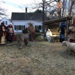 Live Nativity Reenactment at Damariscotta Church