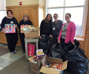 It's beginning to look a lot like Christmas at the headquarters of the local charity organization Noah's Dragons as it begins its annual holiday toy drive for the kids at Spring Harbor Psychiatric Hospital.