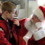 Santa and Amnesty at Local Library