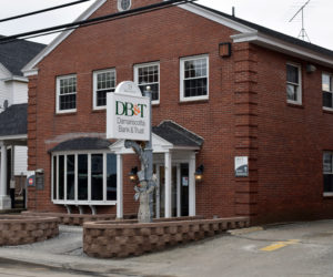 The Damariscotta Bank and Trust branch in downtown Damariscotta on Tuesday, Jan. 28. (Evan Houk photo)