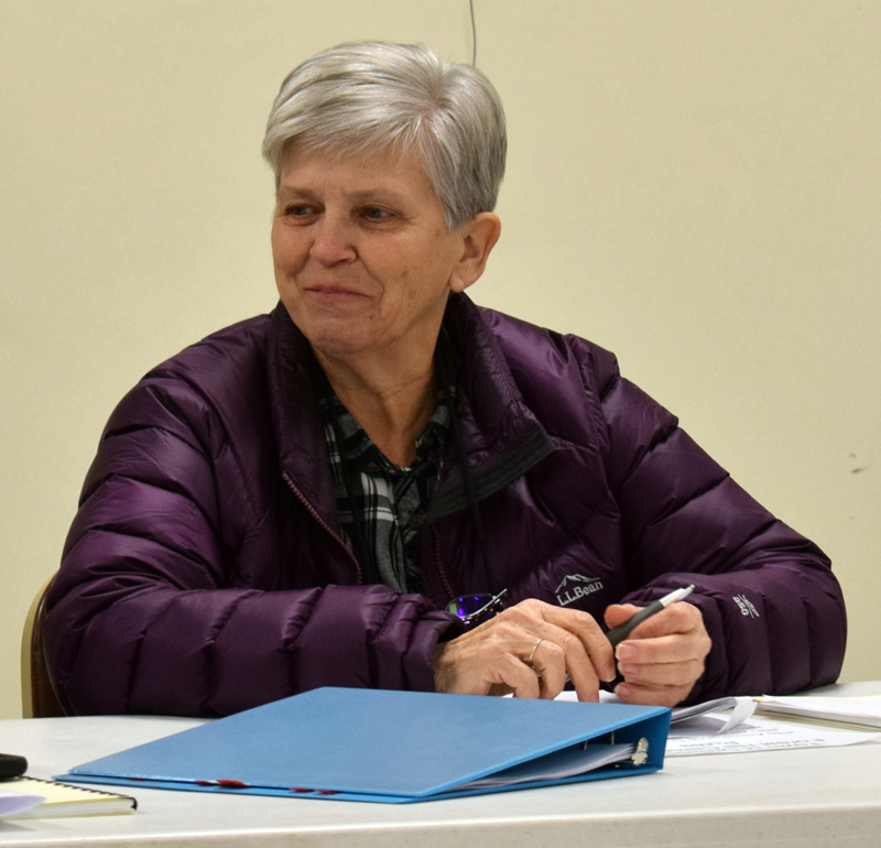 Dresden First Selectman Trudy Foss will resign at the end of February. (Evan Houk photo)