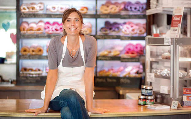Leigh Kellis, of The Holy Donut, will be Cherie Scott's guest on Feb. 13 at Lincoln Theater's Talking Food in Maine: Intimate Conversations event. (Photo courtesy Lincoln Theater)