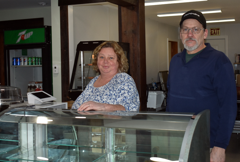 Ginger Mousse Bakery owners Karen and John Kelly are preparing for their business's grand opening, which will take place Monday, Jan. 20. (Alexander Violo photo)