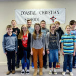 Nathanael Clark Wins Coastal Christian Geography Bee