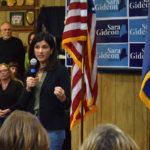 Over 250 Pack Damariscotta Legion Hall to Hear from Senate Candidate