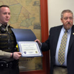 County Commissioners Congratulate Deputy of the Quarter