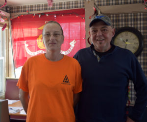 Tarah Diffin and Lenny Santos, of Dresden, are leasing the Ship's Chow Hall building on Route 1 in Wiscasset and changing things up at the restaurant with a new name, The Hot Spot Diner. (Jessica Clifford photo)