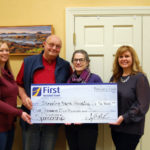 First National Bank Supports Stepping Stone Housing