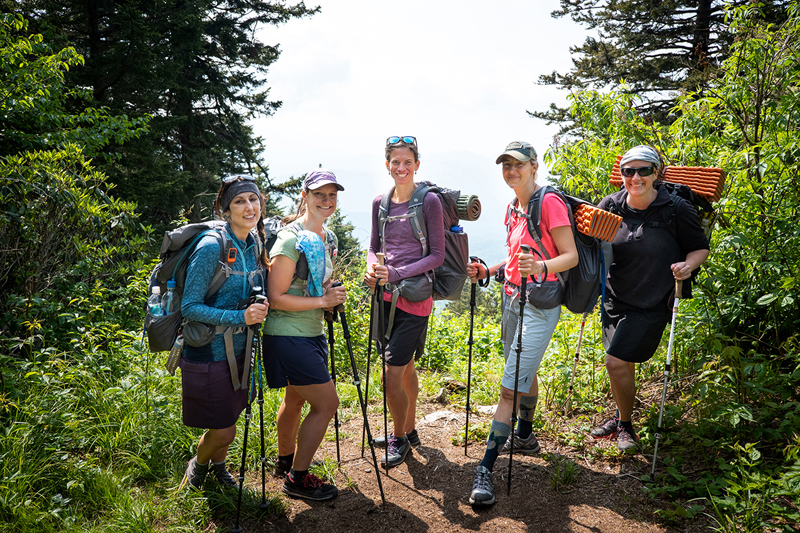 """In the short film """"Positive Forward Motion,"""" hiker and endurance athlete Jennifer Pharr Davis reflects on challenges faced and lessons learned following her record-setting thru-hike on the Appalachian Trail."""