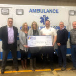 First National Bank Donates $30,000 to CLC Ambulance Service
