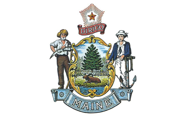 The Great Seal of the State of Maine. (Image courtesy Calvin Dodge)