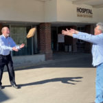 Rotary Delivers Gift Certificates to LincolnHealth
