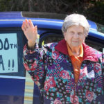 Bristol Woman Celebrates 100th Birthday, with Physical Distancing