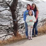 Family Spreads Smiles at Pemaquid Point