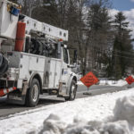Snow, Wind Cause Widespread Outages