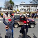 Hundreds Protest Coronavirus Restrictions in Augusta