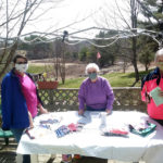 Wiscasset American Legion Auxiliary Makes Face Masks