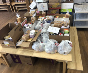 Many meals await delivery to Lincoln County families. The new Lincoln County Food Initiative is a collective of local businesses that are supporting residents during the COVID-19 pandemic.