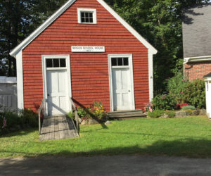 The Waldoborough Historical Society schoolhouse awaits the return of students and visitors alike. (Photo courtesy Jean Lawrence)