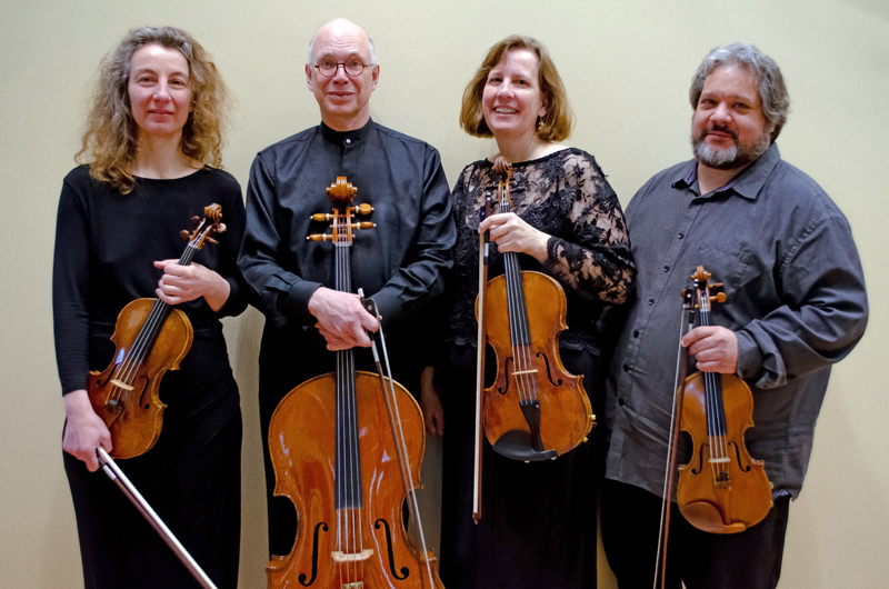 The DaPonte String Quartet hosts weekly digital events and happy hours every Wednesday and Friday.