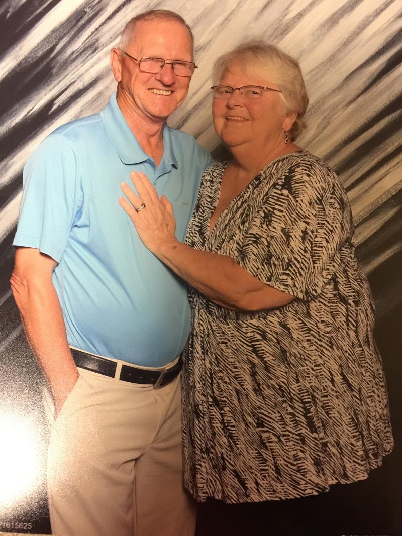 "Barbara Chubbuck with her husband, Jesse ""Tiger"" Chubbuck. (Photo courtesy Jim Chubbuck)"