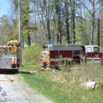 Waldoboro Brush Fire Burns Acre Amid High Fire Danger