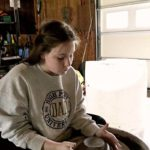 Long Uses Free Time to Improve Ceramics Skills