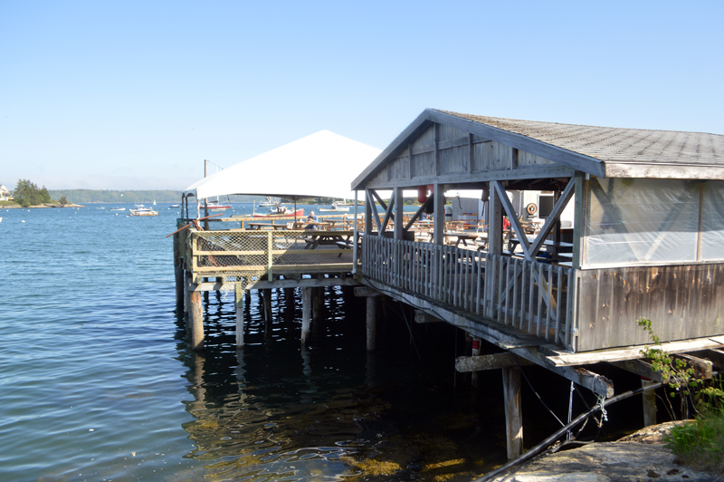 Muscongus Bay Lobster Co. in Round Pond is open Thursday-Sunday. Owners Andrea and Dan Reny own two restaurants next door to each other. They decided to open the outdoor restaurant, but close The Anchor, which has mostly indoor seating. (Alyce McFadden photo)