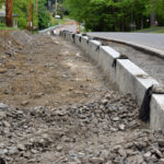 Bristol Road Sidewalk on Schedule, Despite Hiccup