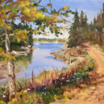 Kefauver Offers Art Lessons Virtually and En Plein Air