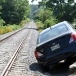 Car Crash Closes Railroad in Nobleboro